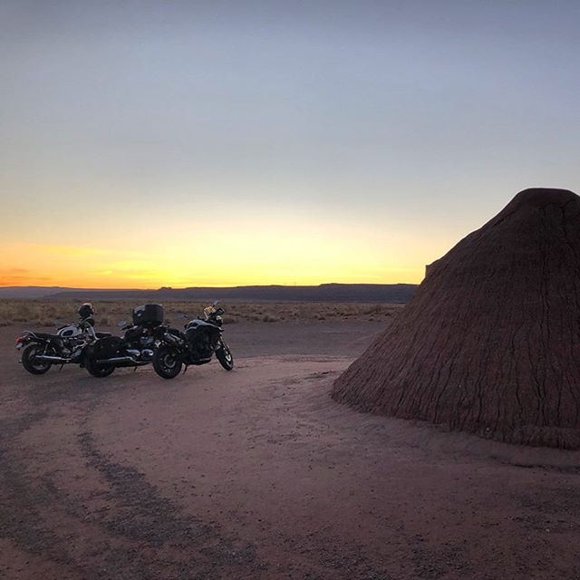 Last night of the Grand Canyon loop ride lodgings 🏜